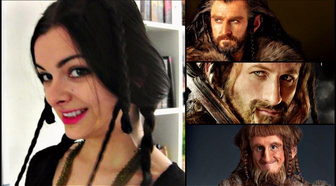 Dwarf Hairstyles: Thorin, Fili, Ori