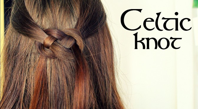 Celtic Knot Hair Tutorial