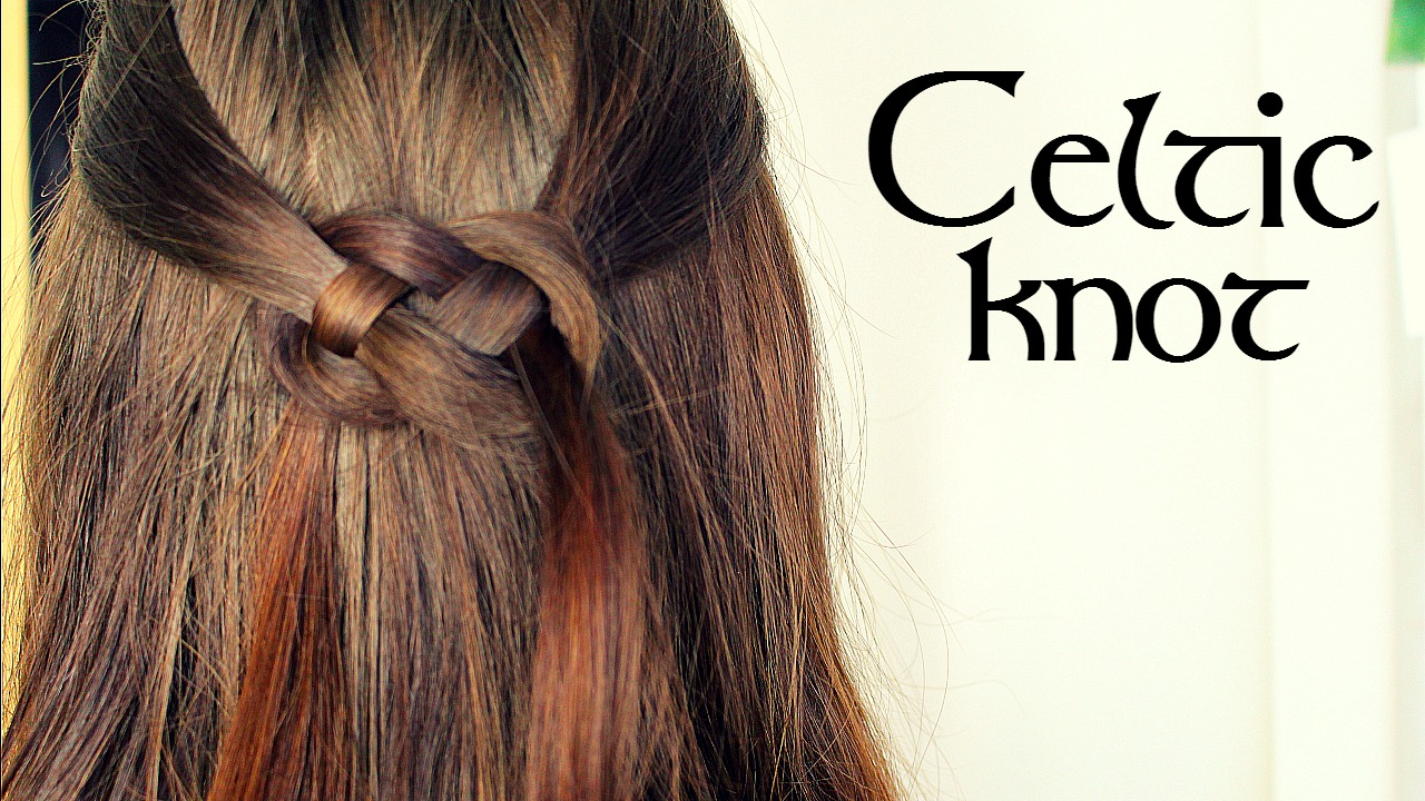 Celtic Knot Hair Tutorial Loepsie