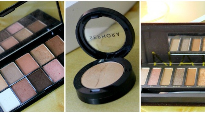 My Favourite Nude Eyeshadows