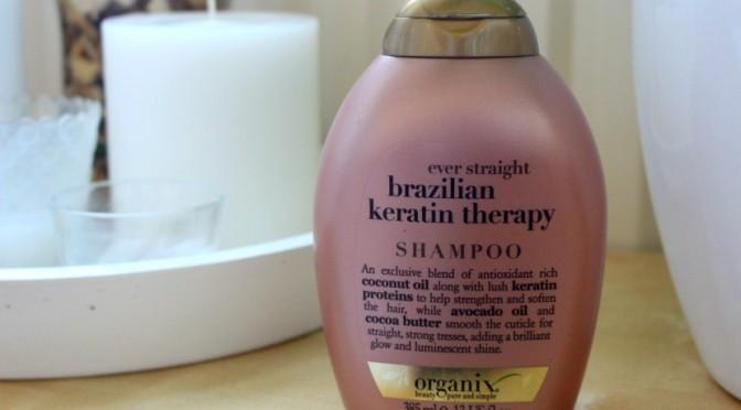 Used up: Organix Brazilian Keratin Therapy Shampoo