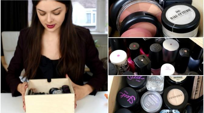 Purging & Organising My Makeup