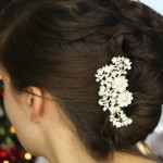 Holiday Hairstyles With Hair Jewelry