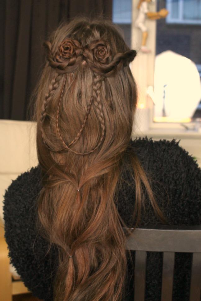 Double Bun Fantasy Hairstyle Loepsie