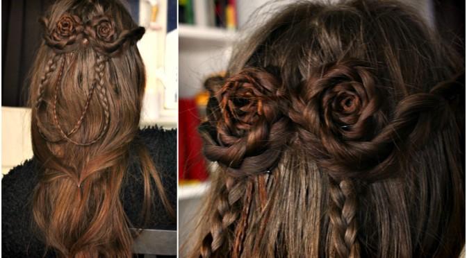 Double Bun Fantasy Hairstyle