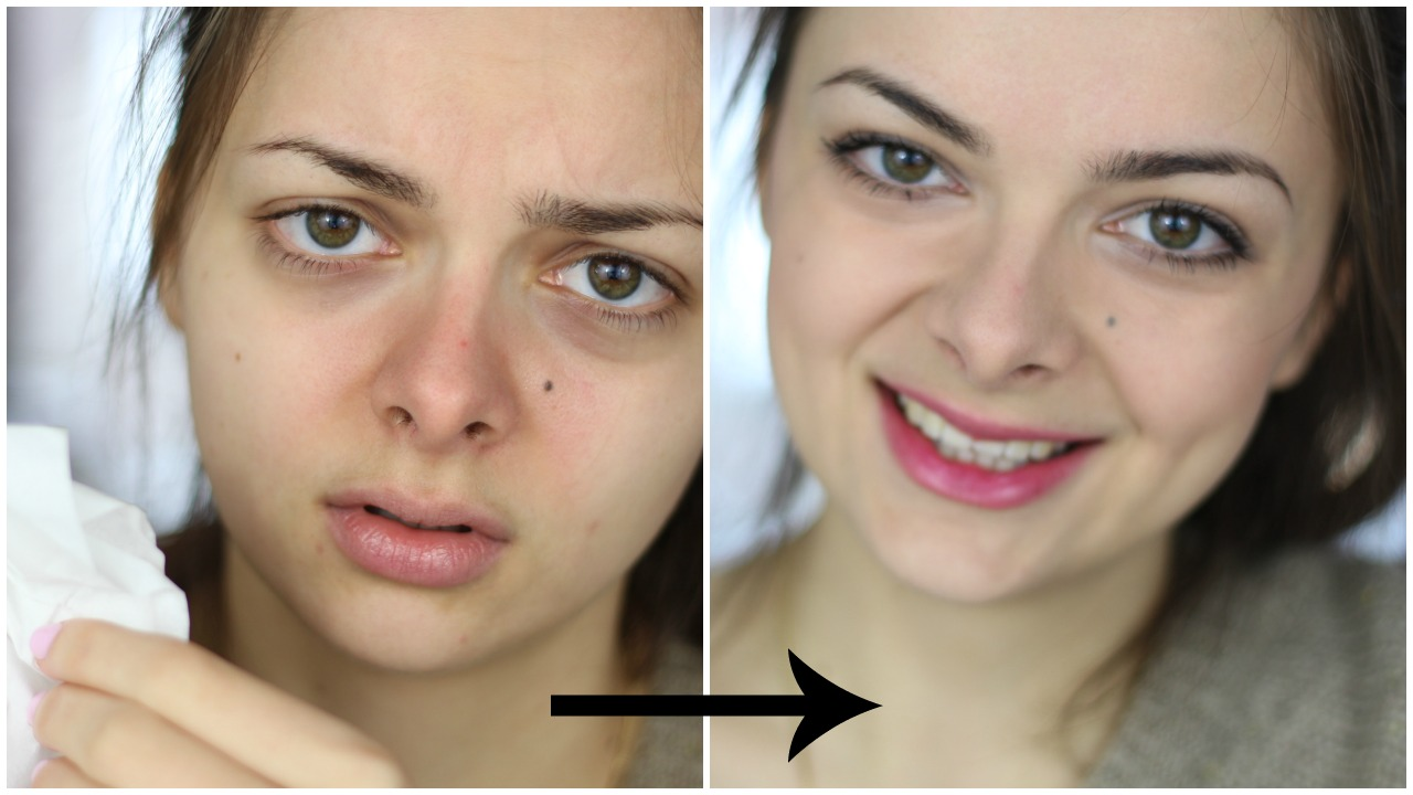 How to Look Sick with Makeup