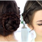 Quick & Easy Braided Updo
