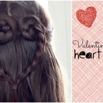 Valentine's Day Heart Braid