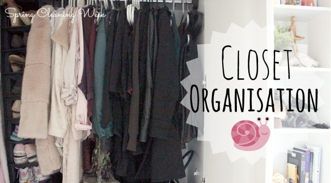Wardrobe Organising | Spring Cleaning Week