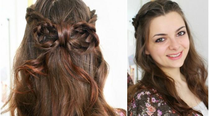 Braided Bow | Hair Tutorial