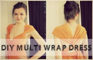 DIY Multi Wrap Dress