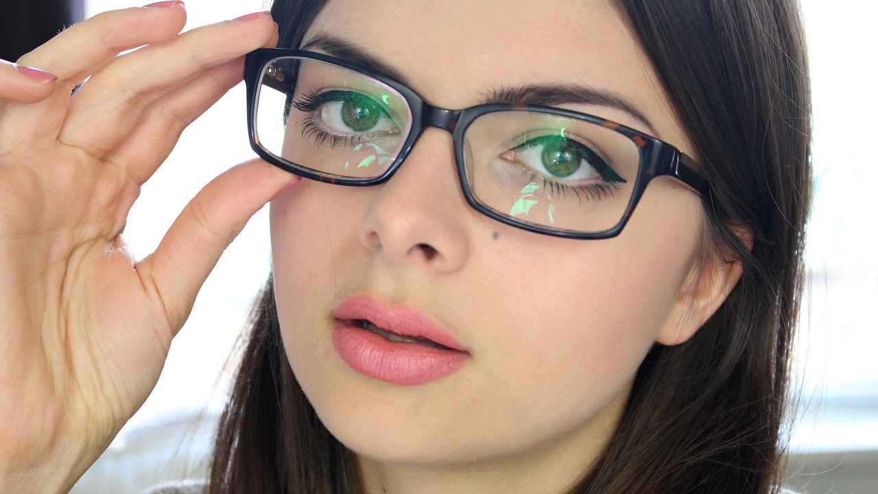 Makeup For Glasses Loepsie