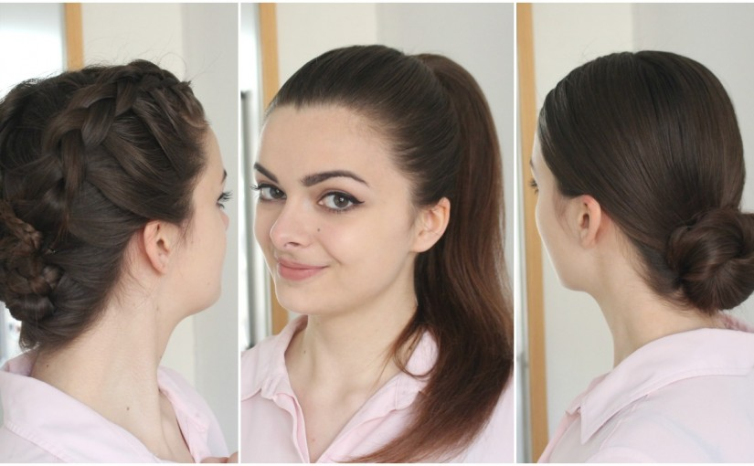 3 Hairstyles for Greasy Hair