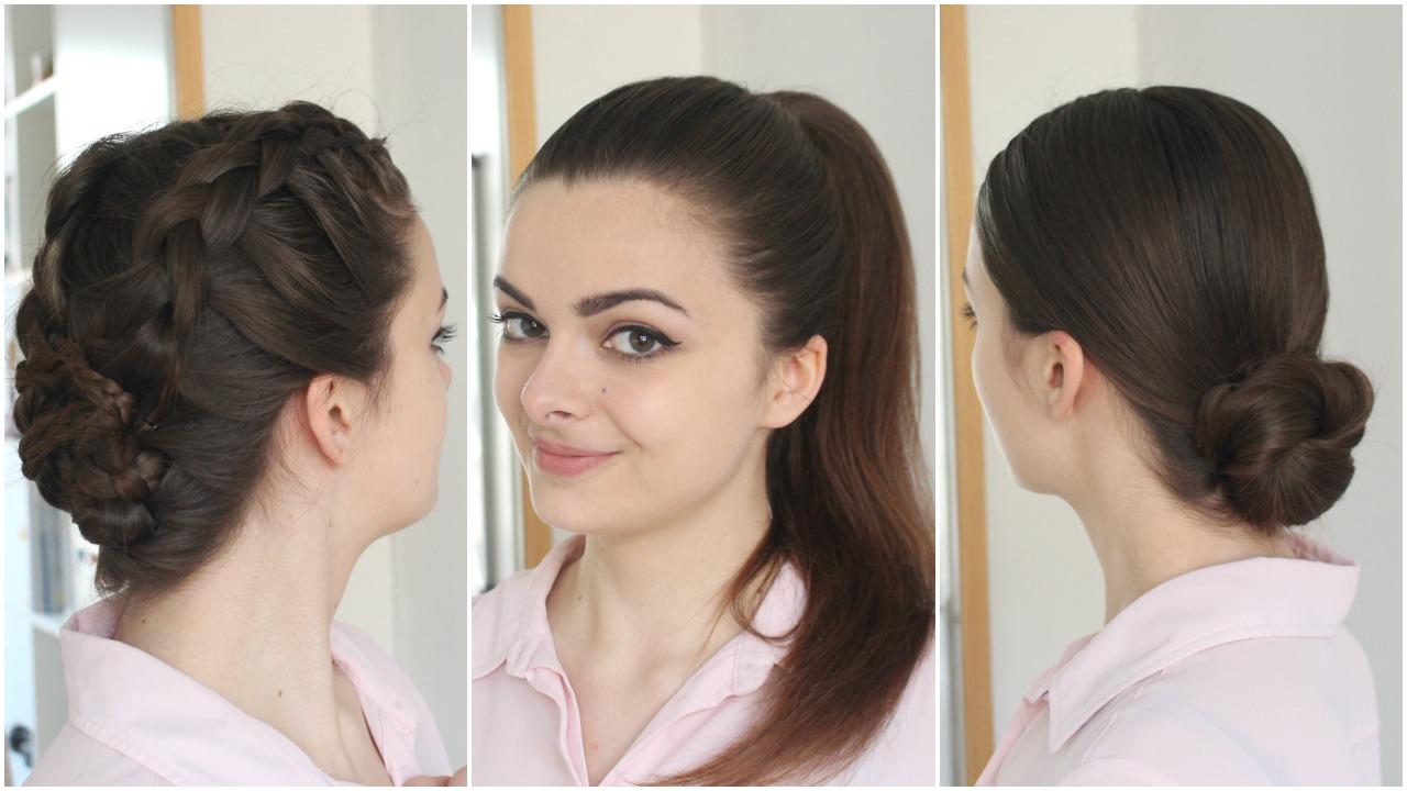 3 hairstyles for greasy hair - loepsie
