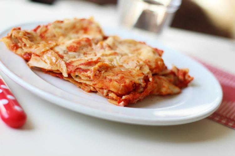 grilled veggie lasagna 2