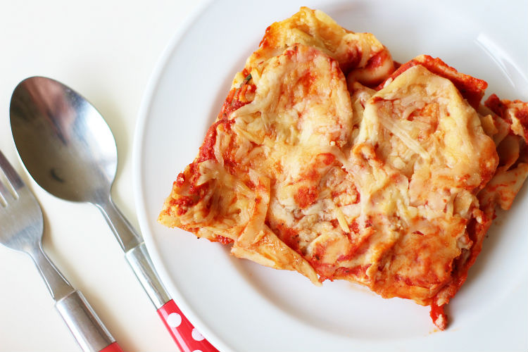 grilled veggie lasagna 3