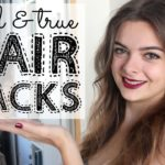 5 Tried & True Hair Hacks