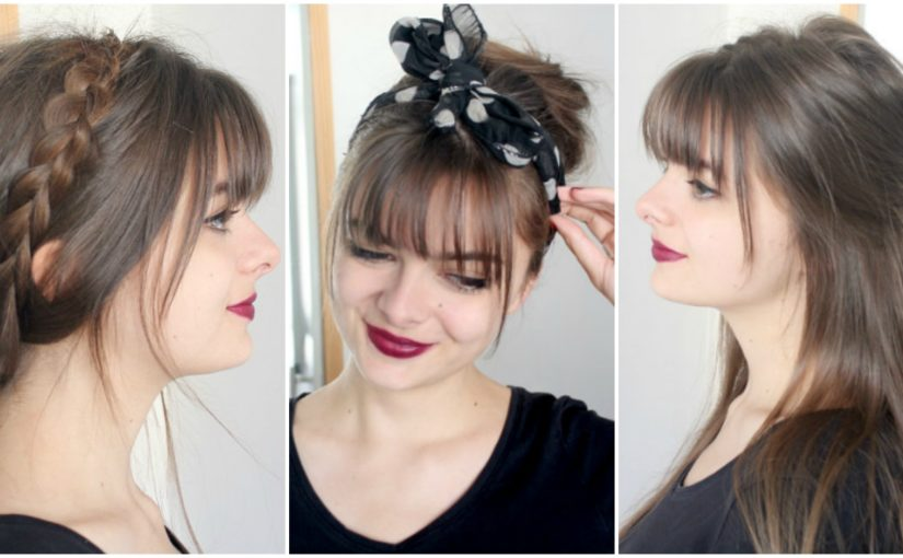Hairstyles With Bangs | Cute & Simple