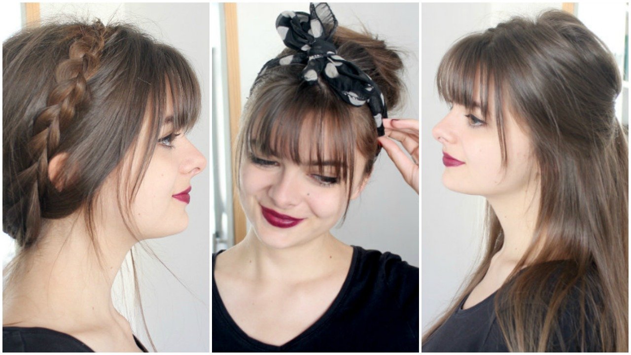 Hair Bangs Style: Cute & Simple - Loepsie