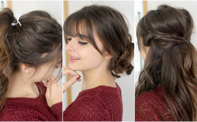 3 Cute, Easy Hairstyles