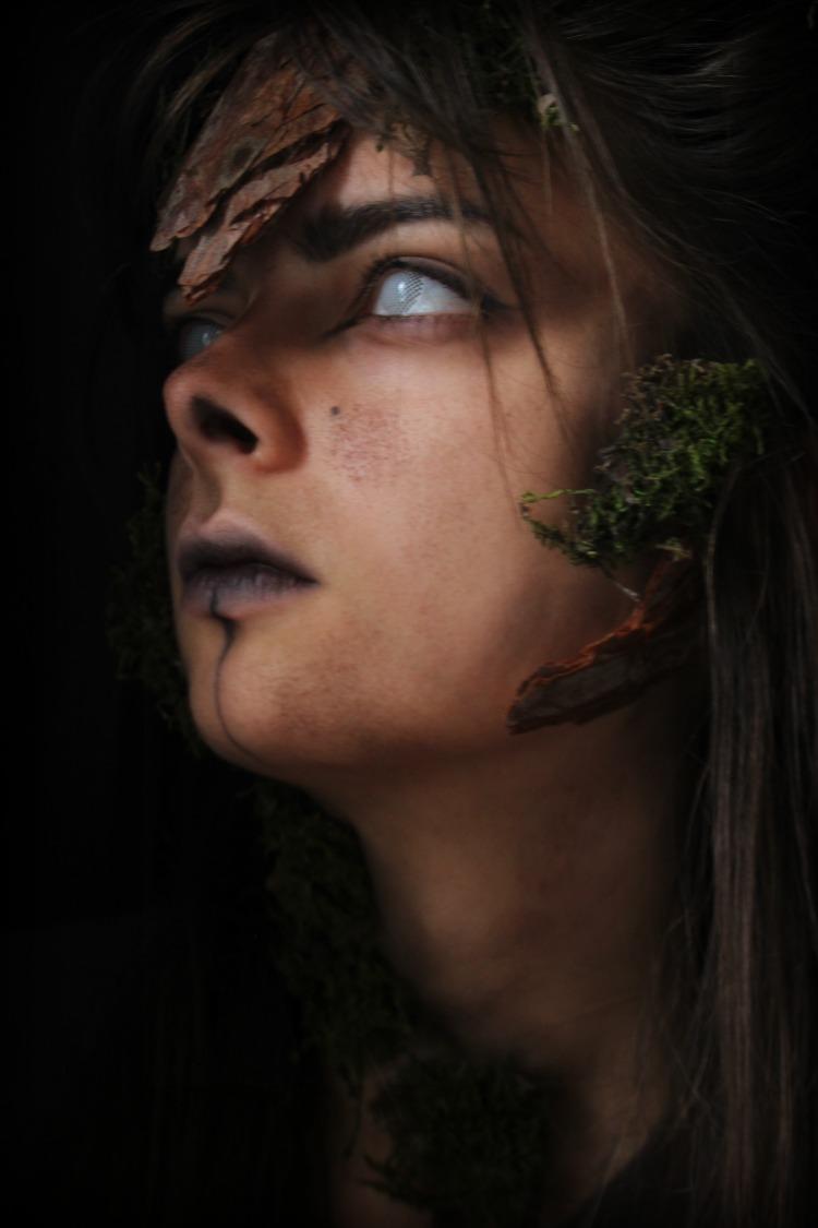 Dryad Halloween makeup