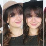Bangs + Hats | Cute Hairstyles