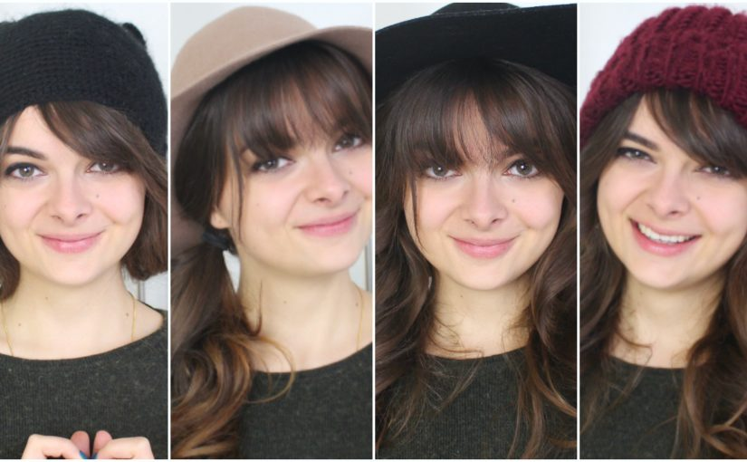 Bangs + Hats | Cute Hairstyles