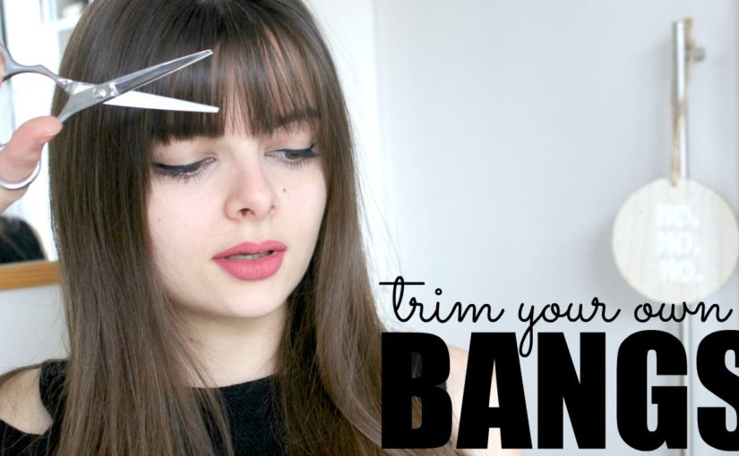 How To Trim Your Own Bangs