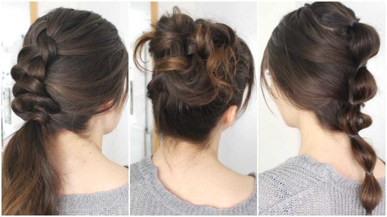 No Heat Hair Styles: Three Easy No-Heat Styles