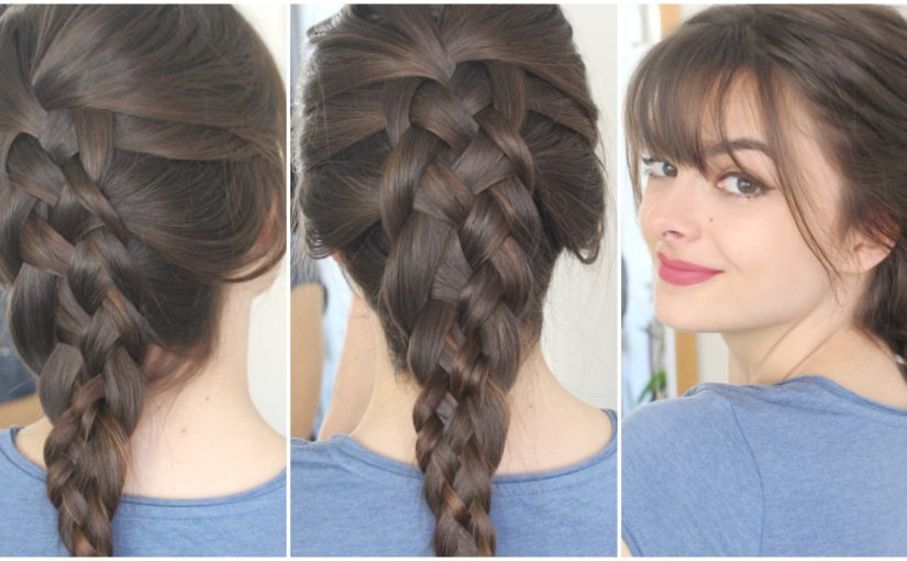 How To Do A Five Strand Dutch Braid On Yourself