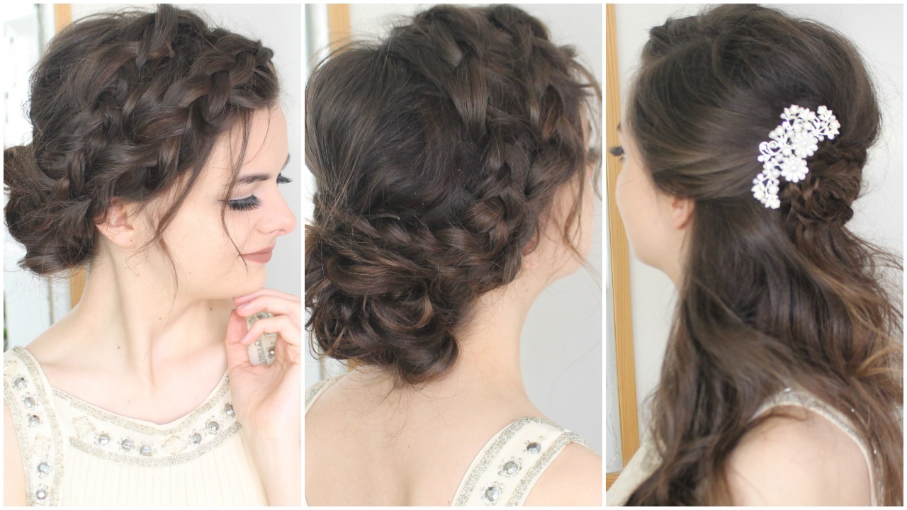 Prom Hair Tutorial Loepsie