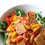 Spicy Tempeh Noodle Bowl Recipe