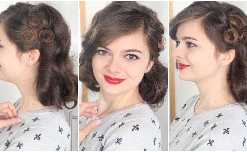 Vintage Faux Bob Hair Tutorial