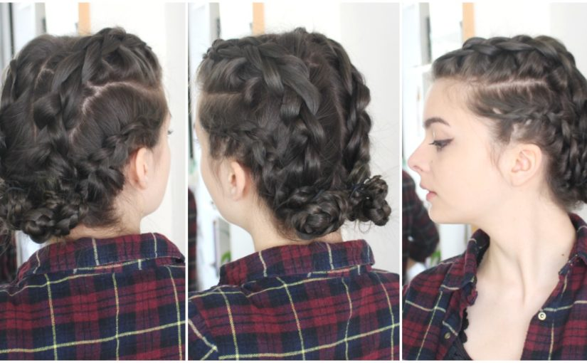 Braided Buns | Music Festival Hairstyle