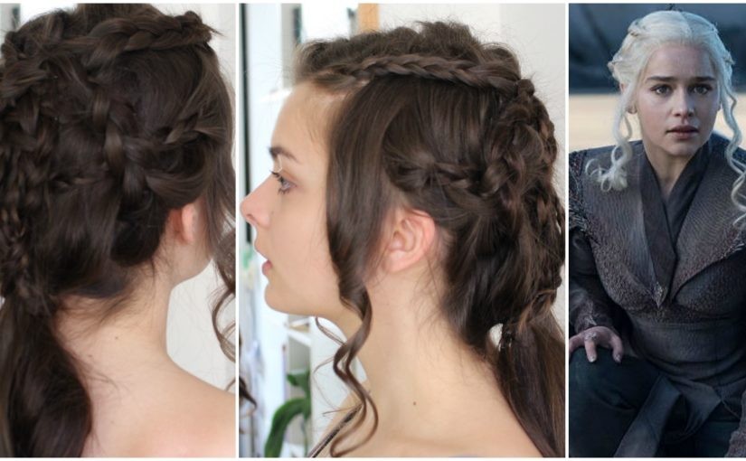 Daenerys Targaryen | GoT Season 7 | Hair Tutorial
