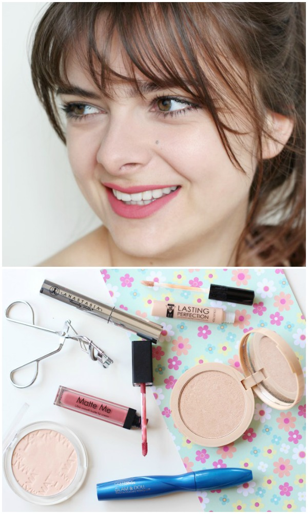 Fresh-faced minimal makeup routine for summer. Only 6 products!