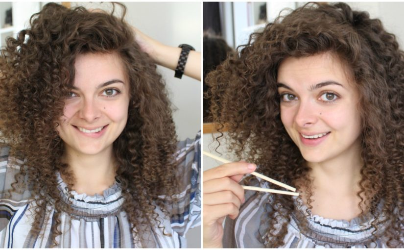How To Curl Your Hair With Chopsticks