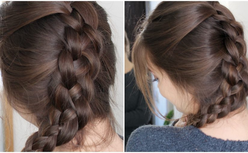 Four Strand Braid Your Own Hair