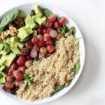 Quinoa, Grape & Avocado Salad | Recipe