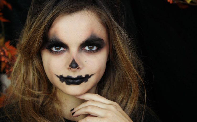 Jack-O'-Lantern | Easy Halloween Makeup Tutorial