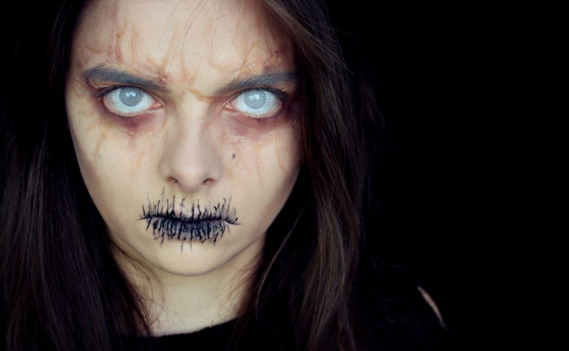 witch fortune teller easy halloween makeup tutorial loepsie