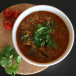 Spiced Eggplant Soup | Recipe