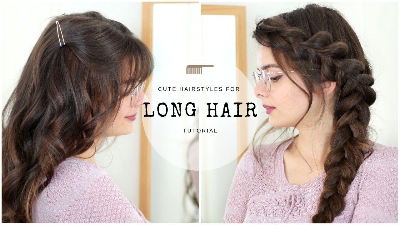 Cute & Easy Hairstyles For Long Hair - Loepsie